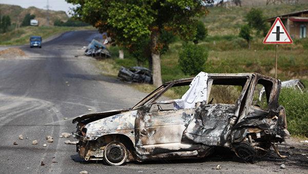 Авария в Киргизии. Архивное фото