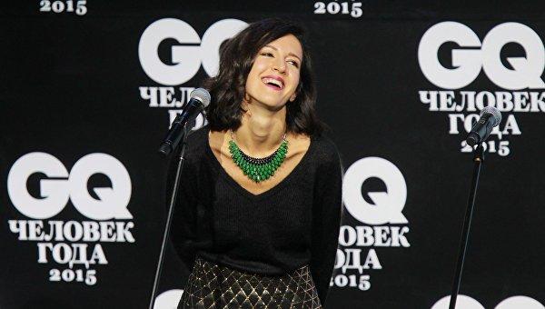 Матильда Шнурова на торжественной церемонии вручения премии издания GQ Человек года в концертном зале Барвиха Luxury Village
