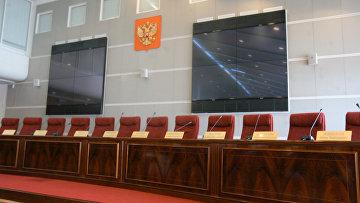 Зал заседаний ЦИК России. Архивное фото