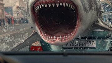 Кадр из видеоролика Челюсти