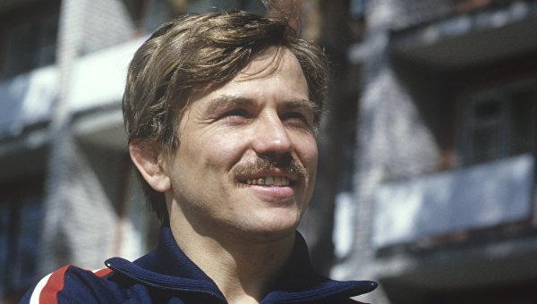 Член сборной команды СССР по вольной борьбе Владимир Юмин. Архивное фото