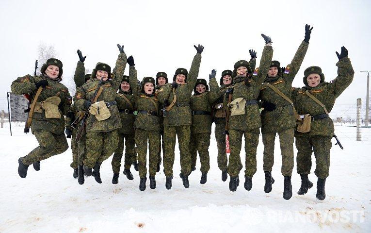 Конкурс для женщин-военнослужащих Макияж под камуфляж в Переславле-Залесском