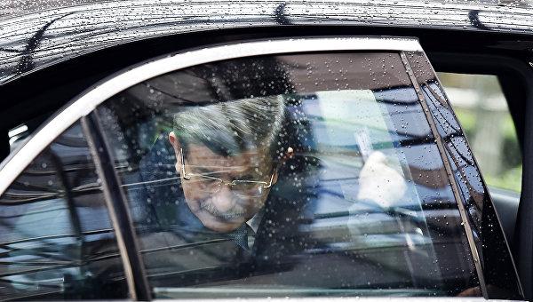 Премьер Турции Ахмет Давутоглу. Архивное фото
