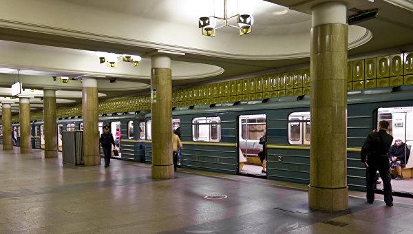 Станция московского метро. Архивное фото