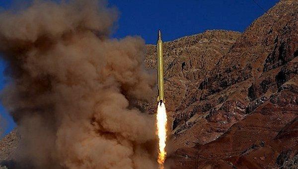 Тестовый запуск баллистической ракеты в Иране