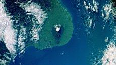 Вид на Новую Зеландию с Международной космической станции. Архивное фото