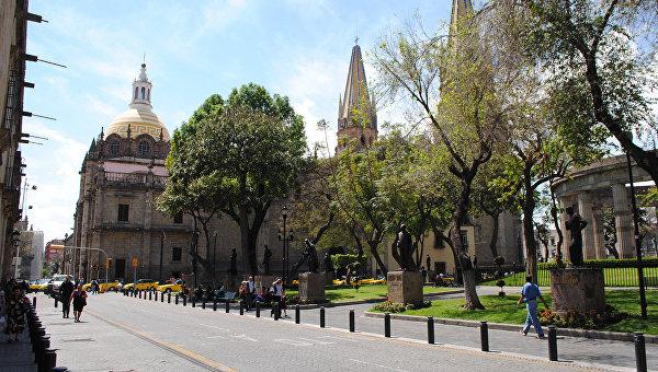 Кафедральный собор в мексиканской Гвадалахаре. Архивное фото