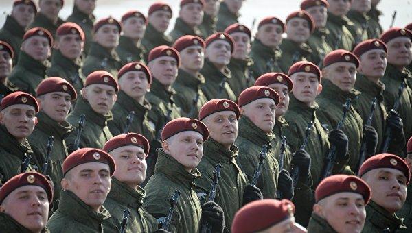 Открытая тренировка военнослужащих Отдельной дивизии оперативного назначения им. Ф.Э. Дзержинского