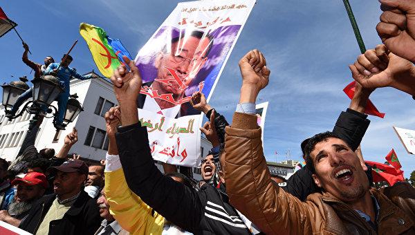 Два миллиона человек протестуют в Марокко против заявлений генсека ООН