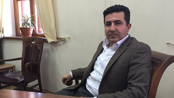 Официальный представитель правительства иракского Курдистана в Москве Асо Талабани. Архивное фото