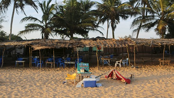 На месте теракта в курортном городе Гран-Басам на юге Кот-д'Ивуара