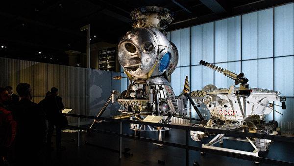 Экспозиция на выставке Космонавты: рождение космической эры в Лондоне. 17 сентября 2015