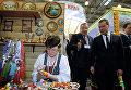 """Посещение Д.Медведевым выставки """"Интурмаркет (ITM) - 2013"""""""
