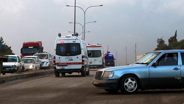 Автомобили скорой помощи Иордании. Архивное фото