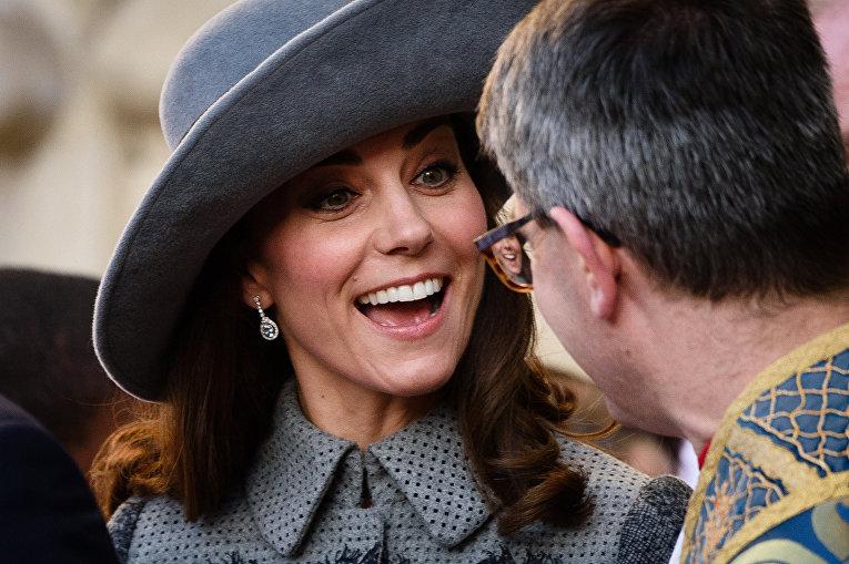 Герцогиня Кембриджская Кэтрин. 14 марта 2016