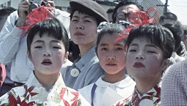 Жители города Саппоро, Япония