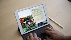 Планшет iPad Pro. Презентация новой продукции компании Apple в Купертино