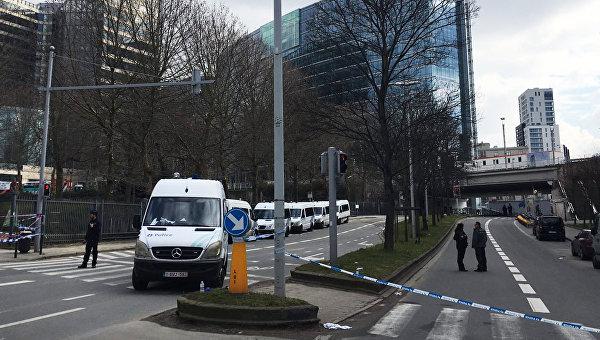 Оцепление в районе Маэльбек в Брюсселе