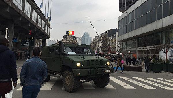 На улицах Брюсселя. 24 марта 2016