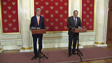 Керри на брифинге с Лавровым назвал условия отмены санкций против РФ