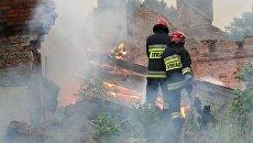 Польские пожарные. Архивное фото