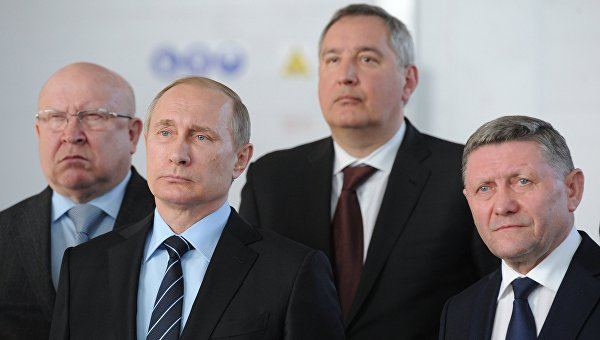 Рабочая поездка президента РФ В. Путина в Нижний Новгород. Архивное фото