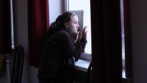 Ученица центра социальной реабилитации. Архивное фото