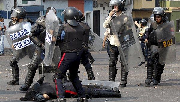 Протесты против повышения стоимости проезда на транспорте в Венесуэле