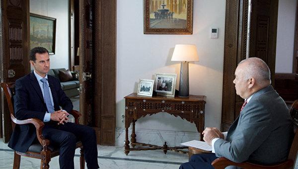 Башар Асад: Сирия нуждается в российских военных базах