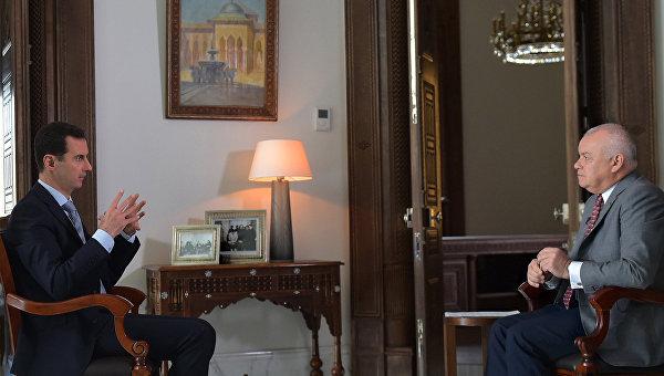 Башар Асад: все, что делает Турция, можно считать агрессией