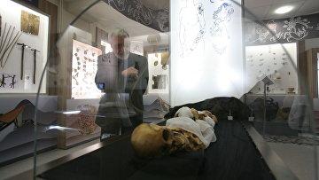 Мумия алтайской принцессы, архивное фото