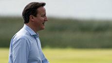 Премьер-министр Великобритании Дэвид Кэмерон. Архивное ото