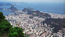 Панорама Рио-де-Жанейро. Архивное фото