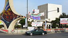 Предвыборные плакаты кандидатов в парламент Сирии. Архив