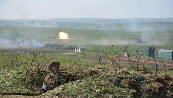 Украинские силовики заняли огневые позиции вдоль