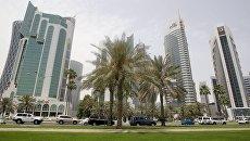 Вид на Доху, Катар