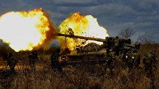 Межвидовые тактические учения 5-й общевойсковой армии ВВО. Архивное фото