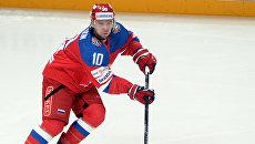 Игрок сборной России Сергей Мозякин. Архивное фото