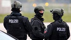 Сотрудники правоохранительных органов Германии Архивное фото