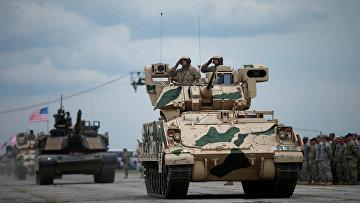 Грузино-американские военные учения Noble Partner - 2016 (Достойный партнер). 11 мая 2016