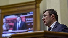 Бывший министр внутренних дел, глава фракции БПП Юрий Луценко. Архивное фото