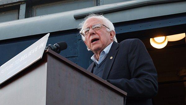 Кандидат в президенты США от Демократической партии Бернард Сандерс. Архивное фото