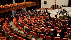 Заседание парламента Турции. 20 мая 2016