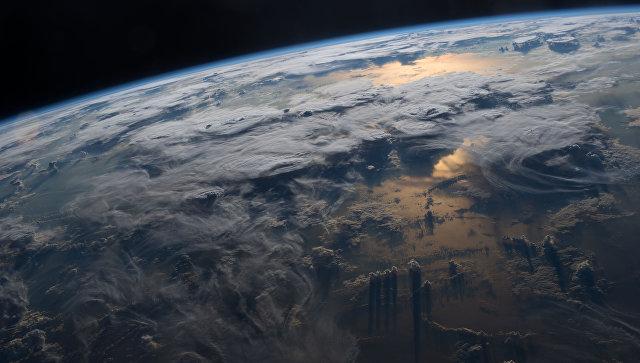 Вид Земли с МКС. Архивное фото
