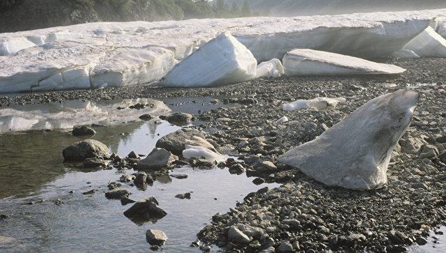 Колыма, Магаданская область. Территория вечной мерзлоты. Архивное фото