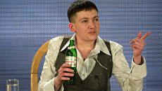 Украинская военнослужащая Надежда Савченко. Архивное фото