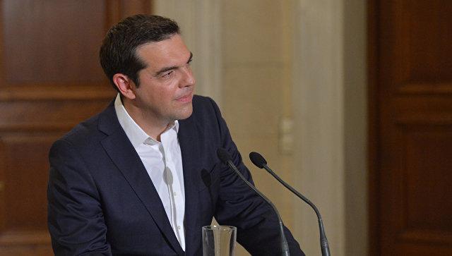 Премьер-министр Греческой Республики Алексис Ципрас. Архивное фото