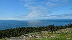 Вид на Финский залив. Архивное фото