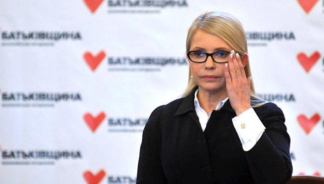 Тимошенко отрицает, что ждала встречи с Трампом возле туалета