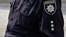 Сотрудники Украинской полиции. Архивное фото